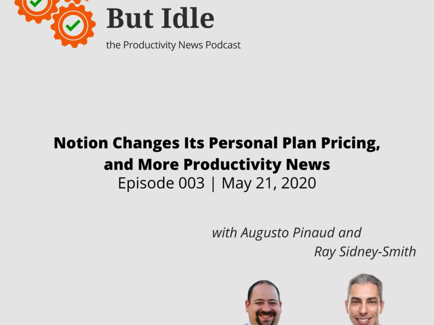 Notion Changes Its Personal Plan Pricing