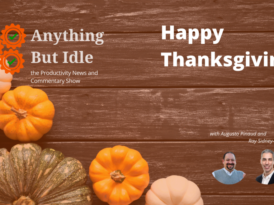 Happy Thanksgiving! Google Pay and PayPal Reinvigorate Mobile Personal Finance