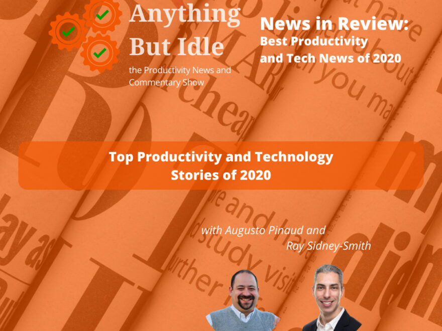 Best Productivity and Technology Stories in Review for 2020
