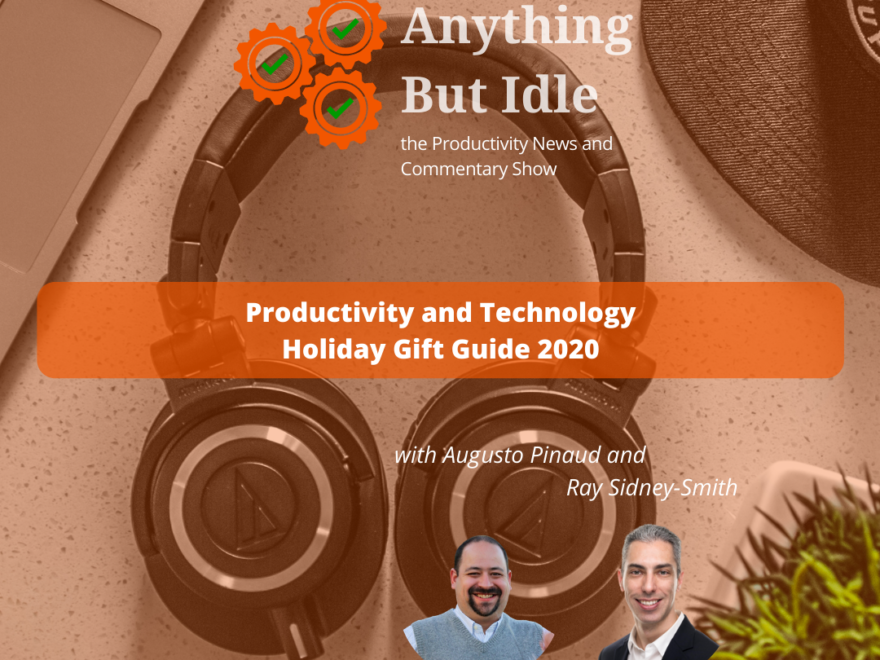 Productivity and Technology Holiday Gift Guide 2020