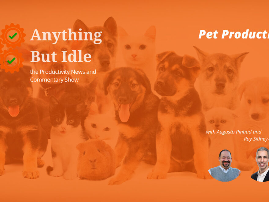 Pet Productivity - Anything But Idle
