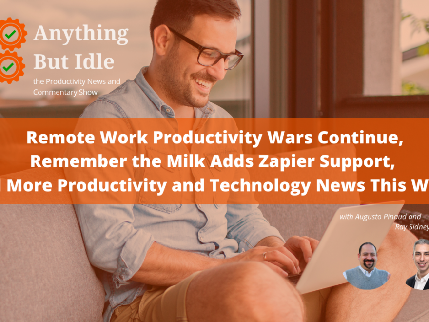 Remote Work Productivity Wars Continue