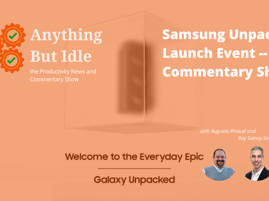 039 Commentary on Samsung Galaxy Unpacked 2021 Launch Event - YouTube